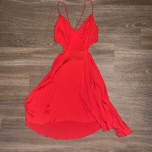 Red, M, Urban Outfitter Dress. NEVER WORN!